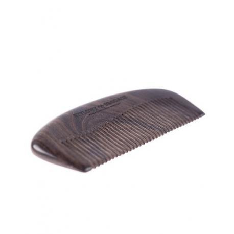 Stylowy Brodacz - grzebień do brody, drewno chacate preto