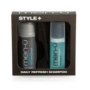 men-u zestaw: LIQUIFFLEX krem do stylizacji 100ml + szampon DRS 100ml