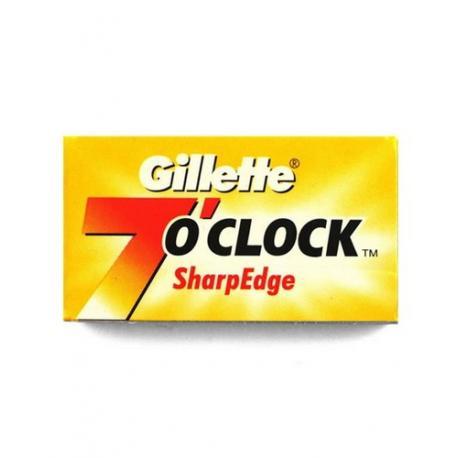 Żyletki Gillette 7 o`clock Sharp Edge (żółte) 5 sztuk