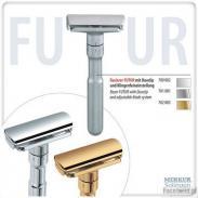 Maszynka do golenia na żyletki Merkur FUTUR pozłacana