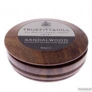 Truefitt & Hill SANDALWOOD mydło do golenia w drewnianym tyglu 99 gr