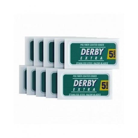 Żyletki Derby Extra (zielone) 50 sztuk