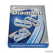 Żyletki CROMA Diamant (niebieskie) 10 sztuk