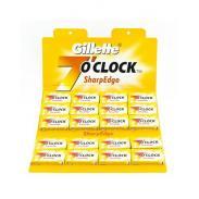 Żyletki Gillette 7 o`clock Sharp Edge (żółte) 100 sztuk