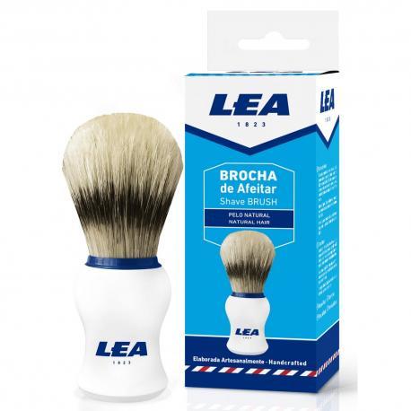 LEA pędzel do golenia naturalna szczecina biały