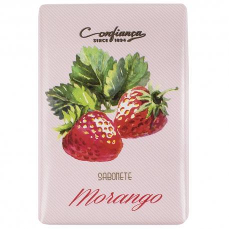 Confianca MORANGO mydło roślinne truskawkowe 100g