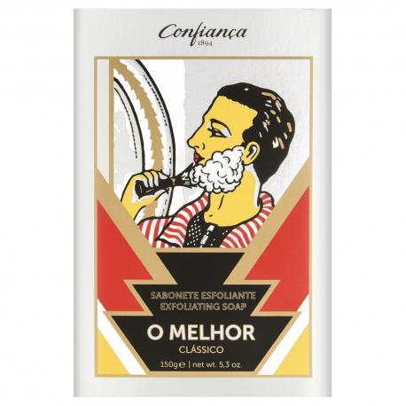 Confianca O MELHOR luksusowe peelingujące mydło do twarzy i ciała 150gr