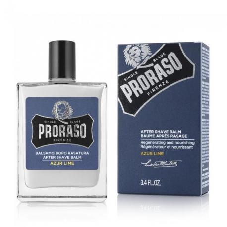 PRORASO Azur Lime - balsam po goleniu 100ml