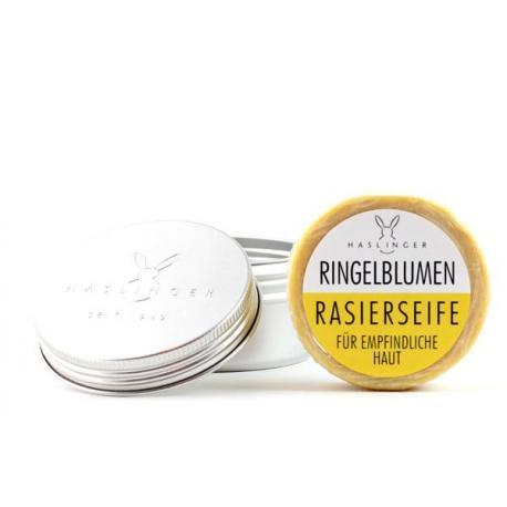 HASLINGER mydło do golenia z NAGIETKIEM w tygielku 60 gr