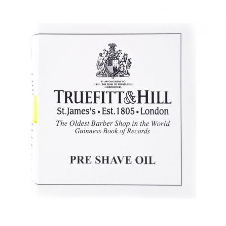 Tester olejku przed goleniem Truefitt & Hill Ultimate Comfort
