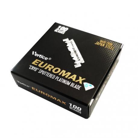 Połówki żyletek Vertice EuroMax 100 sztuk