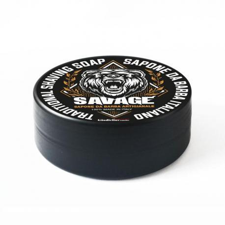 Goodfellas Smile Savage - tradycyjne mydło do golenia 100g