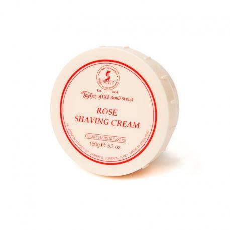 Taylor ROSE krem do golenia różany w tyglu 150 gr