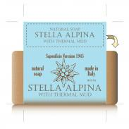 SAPONIFICIO VARESINO mydło kąpielowe Stella Alpina i błoto termalne 300g
