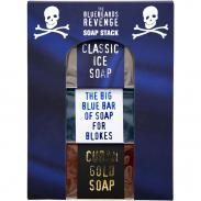 Bluebeards Soap Stack - zestaw mydeł kąpielowych