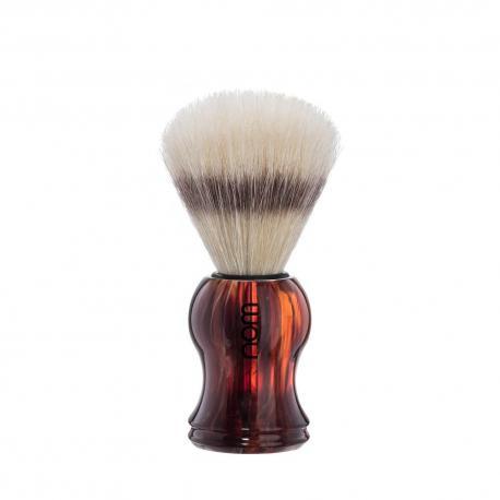 Pędzel do golenia HJM 41P3H, naturalna szczecina, uchwyt brąz