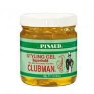 CLUBMAN Pinaud Superhold SG - męski żel do stylizacji włosów, mocne utrwalenie 453g