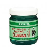 CLUBMAN Pinaud Hard to hold SG - męski żel do stylizacji włosów, mocne utrwalenie 453g