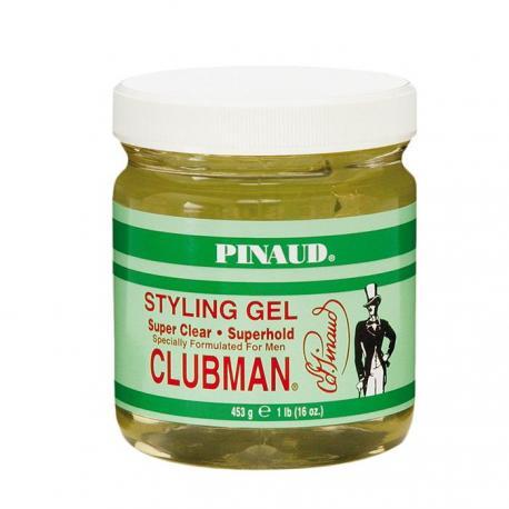 CLUBMAN Pinaud Super Clear SG - męski żel do stylizacji włosów 453g