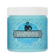 CLUBMAN Pinaud - niebieska pomada, średnie utrwalenie (medium hold) 113g