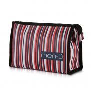 men-u męska kosmetyczka Stripes blue-red-white