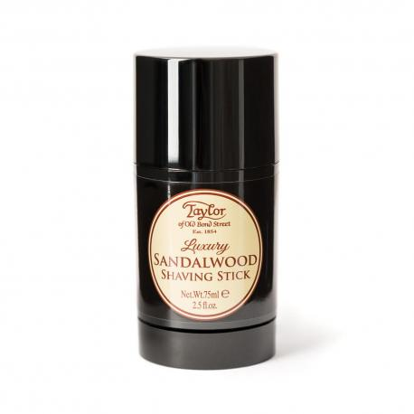 Taylor SANDALWOOD Luksusowy sztyft do golenia drzewo sandałowe 75 ml