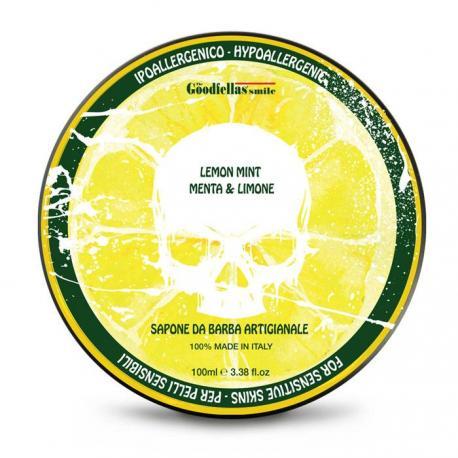 Goodfellas Smile Lime & Mint - tradycyjne mydło do golenia 100g