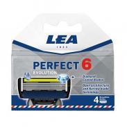 Wkłady do maszynek LEA PERFECT 6 Evolution 4sztuki