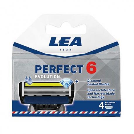 Wkłady do maszynek LEA PERFECT 6 4sztuki