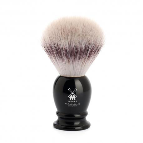 Pędzel do golenia Muhle CLASSIC 33K256, syntetyk SILVERTIP FIBRES, czarny