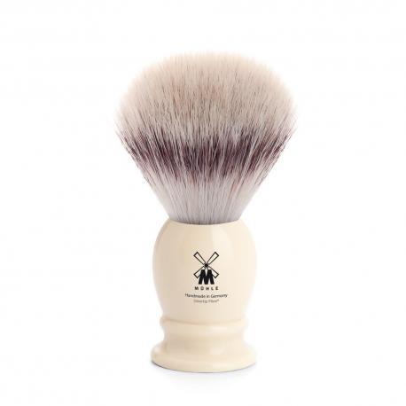 Pędzel do golenia Muhle CLASSIC 31K257, syntetyk SILVERTIP FIBRES, kremowy