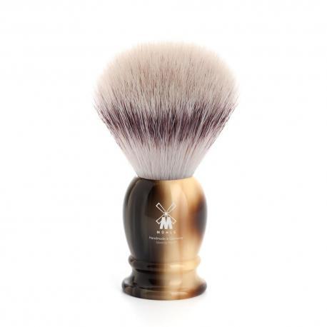Pędzel do golenia Muhle CLASSIC 31K252, syntetyk SILVERTIP FIBRES, imitacja rogu