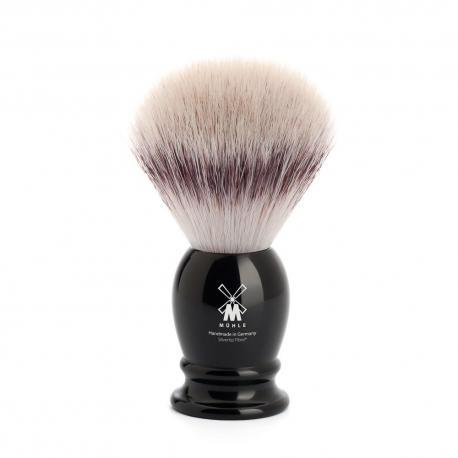 Pędzel do golenia Muhle CLASSIC 31K256, syntetyk SILVERTIP FIBRES, czarny