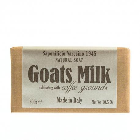 SAPONIFICIO VARESINO mydło toaletowe Kozie Mleko i Kawa Arabica 300g