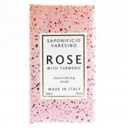 SAPONIFICIO VARESINO mydło toaletowe Róża i Kurkuma 300g