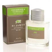 St. James of London Cedr i Szałwia żel po goleniu 100 ml