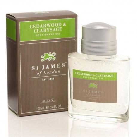 St. James od London Cedr i Szałwia żel po goleniu 100 ml