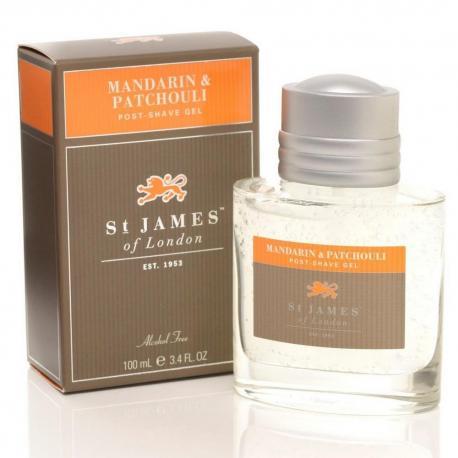 St. James od London Mandarynka i Paczula żel po goleniu 100 ml