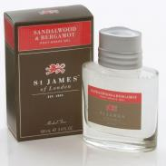 St. James of London Drzewo Sandałowe i Bergamotka żel po goleniu 100 ml