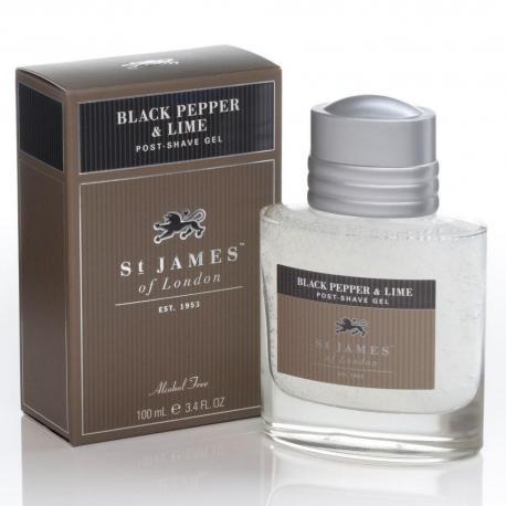 St. James od London Pieprz i Limonka żel po goleniu 100 ml