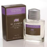 St. James of London Lawenda i Geranium żel po goleniu 100 ml