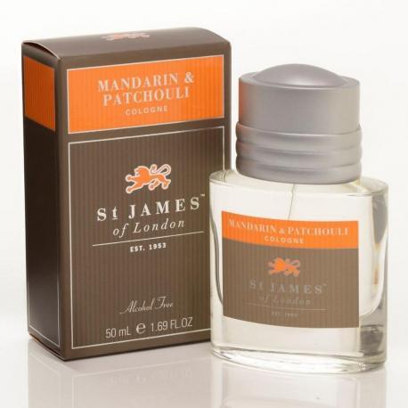 St. James od London Mandarynka i Paczula woda kolońska 50 ml