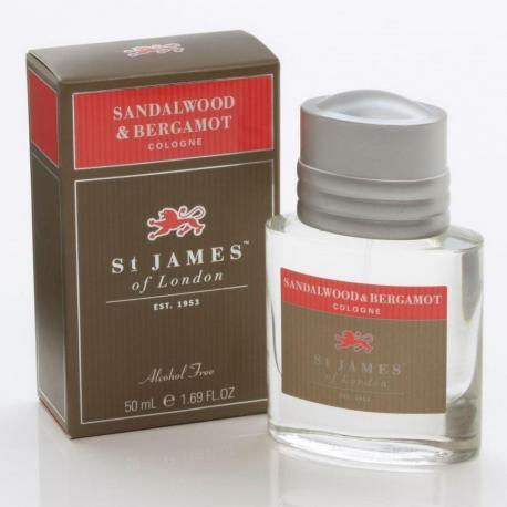 St. James od London Drzewo Sandałowe i Bergamotka woda kolońska 50 ml