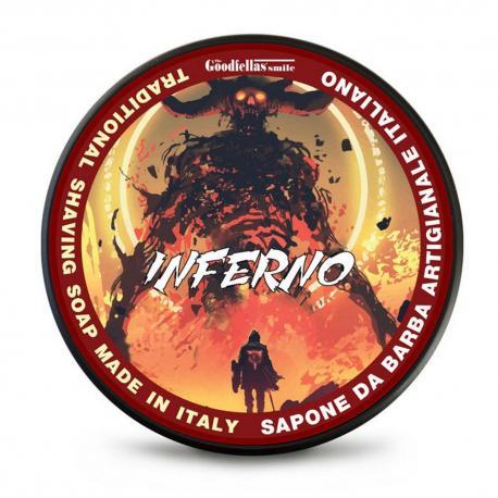 Goodfellas Smile Inferno - tradycyjne mydło do golenia 100ml