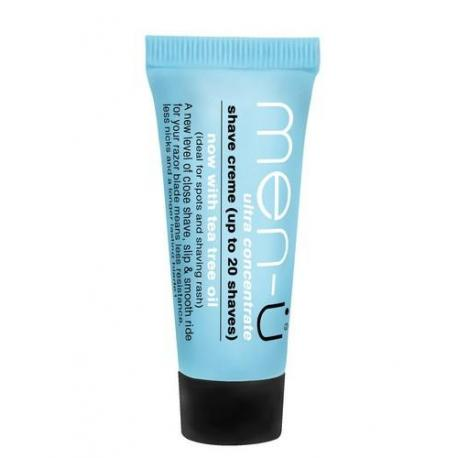 men-u SHAVE CREME krem do golenia w mini tubce 15ml