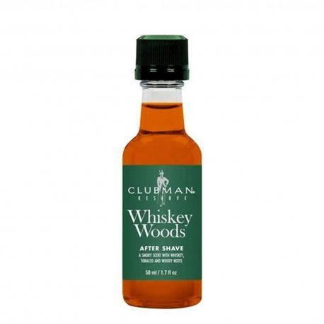 CLUBMAN Pinaud AS Whiskey Woods woda po goleniu mini 50ml