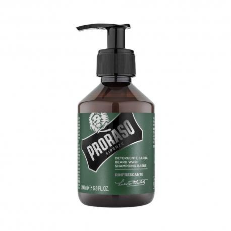 Proraso BEARD WASH szampon do brody i wąsów (linia zielona) 200 ml