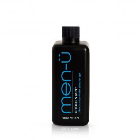 men-u ultrawydajny żel pod prysznic: cytrusy i mięta, XXL 500ml