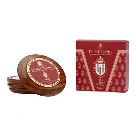 Truefitt & Hill 1805 mydło do golenia w drewnianym tyglu 99 gr