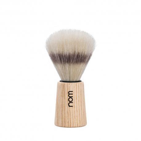 nom THEO 41PA, pędzel do golenia, naturalna szczecina, jesion